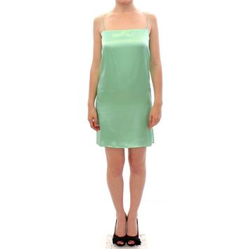 Versace Light Green Coctail Dress