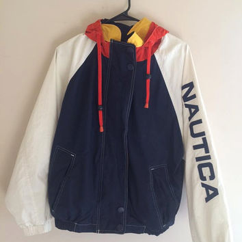 NEW!! colorblock nautica jacket
