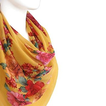 BUY ANY 3 GET 1 OF THEM FREE, large scarf, autumn color scarf, cotton scarf, warm yellow scarf, square scarf, fall fashion, girlfriend gift, Christmas gift, valentines day, gift for her, soft scarf,