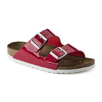 Birkenstock Womens Arizona Tango Red Patent Birko-Flor Sandals 38 EU sale  sandals  mayari  arizona  promo boston cheap