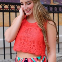 Paradise Cove Crop Top
