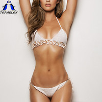 Crochet bikini  women swimsuit