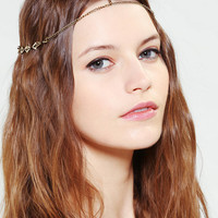 Urban Outfitters - Triangle Goddess Chain Headwrap