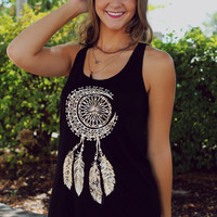 Harvest Moon Tank - Black
