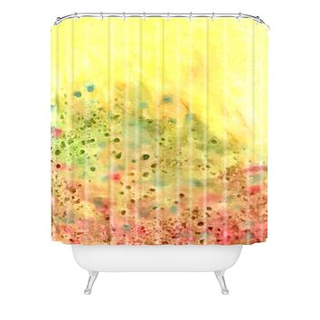 Rosie Brown Jeweled Pebbles Shower Curtain