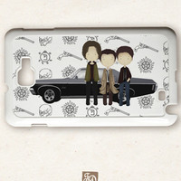 iPhone 4 / 4s and 5 / 5s, Samsung Galaxy case cute TEAM FREE WILL , Supernatural, / Nexus / iPod 4, 5, iPad / Sony / BlackBerry / htc