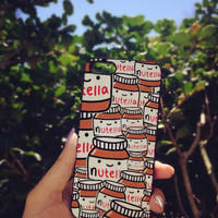 Cute Nutella iPhone Case 5/5S 5C 4S/4