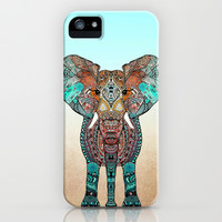 Cute  *** BOHO ElePHANT ***  iPhone & iPod Case by Monika Strigel