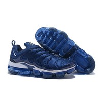Nike Air VaporMax Plus ¡°Navy White¡± VM Tn Running Shoes