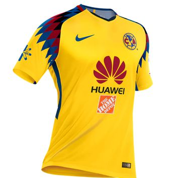 KUYOU Mexico Club America 2018 Third Away Men Soccer Jersey Personalized Name and Number