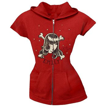 Emily The Strange - Poison Juniors Hoodie
