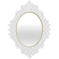 Hadley Hutton Dotty Grey Baroque Mirror
