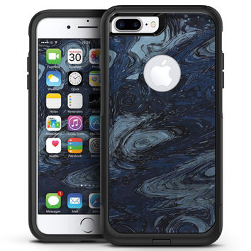 Dark Slate Marble Surface V32 - iPhone 7 or 7 Plus Commuter Case Skin Kit