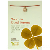 GOOD FORTUNE WISH NECKLACE