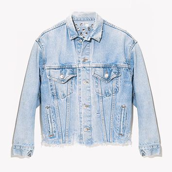 RWDZ Eyelets & Denim Light Vintage Jacket