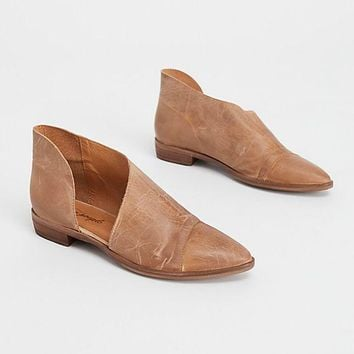 Royale Flat Shoes - Brown by Free People