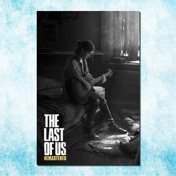 The Last Of Us Art Silk Canvas Poster Print Zombie Survival Horror Action TV Game Pitcures 13x20 24x36 inches (more)-4