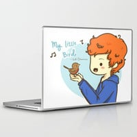 Ed Sheeran Little Bird Laptop & iPad Skin by xjen94 | Society6