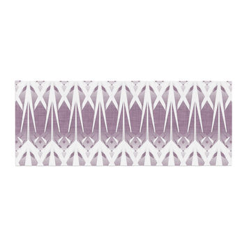 "Alison Coxon ""Arrow Lavender"" Bed Runner"
