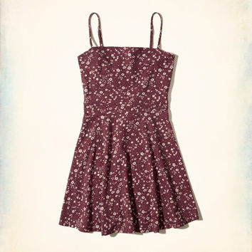 Girls Cutout Knit Skater Dress | Girls New Arrivals | HollisterCo.com