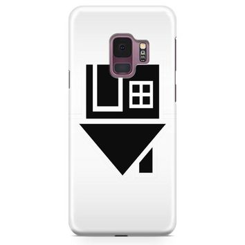 The Neighbourhood Logo White Samsung Galaxy S9 Case | Casefantasy