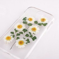 White daisy Case for Samsung Galaxy Samsung S3