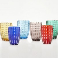Perle Tumblers, Gift Set of 6