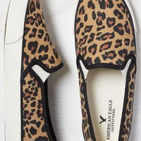 AEO Women's Slip-on Sneaker (Leopard)
