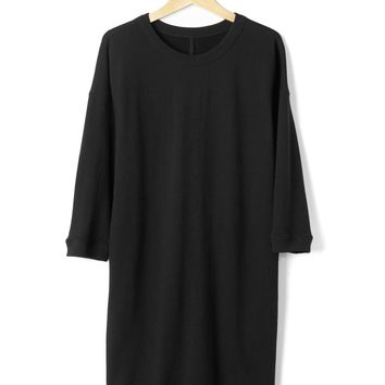 French terry shift dress | Gap