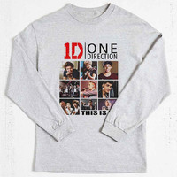 One Direction Tour 2014 long sleeved on Size : S-3Xl , heppy new year in 2015.