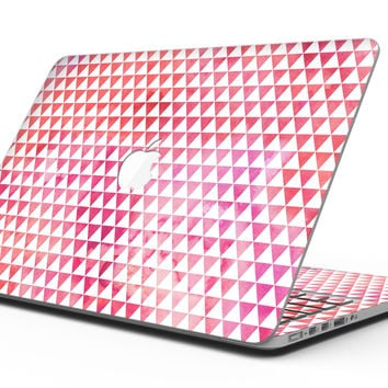 50 Shades of Pink Micro Triangles - MacBook Pro with Retina Display Full-Coverage Skin Kit