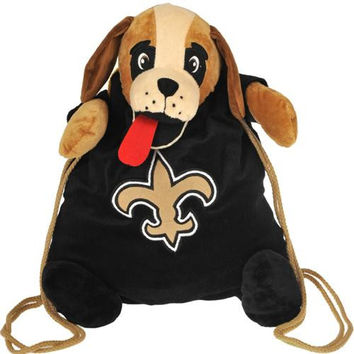 New Orleans Saints NFL Plush Mascot Backpack Pal