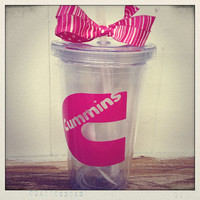 16oz.  Acrylic Tumbler Personalized with by NancysScribbles