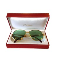 Original Vintage Cartier Panthere Sunglasses Circa 1988