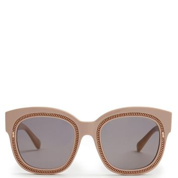 Falabella chain-embellished acetate sunglasses | Stella McCartney | MATCHESFASHION.COM UK