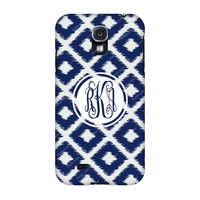 Samsung Galaxy cases, Samsung Galaxy s4 case, Galaxy s4 case, Monogrammed Samsung S4 case Blue Diamond, Monogrammed samsung cases