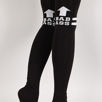 Badass Instinct Thigh High Socks