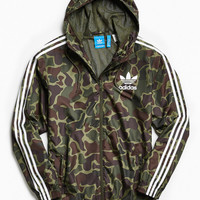 adidas Camo Windbreaker Jacket | Urban Outfitters