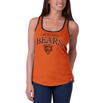 PEAPGQ9 Chicago Bears - Logo Headway Juniors Tank Top