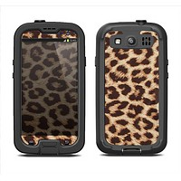 The Simple Vector Cheetah Print Samsung Galaxy S3 LifeProof Fre Case Skin Set