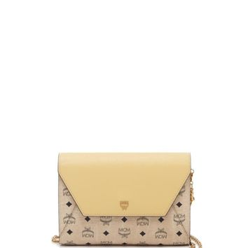 MCM Crossbody - Love Letter Visetos Large Wallet on a Chain | Bloomingdales's