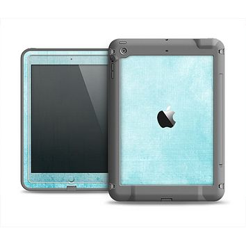 The Vintage Blue Textured Surface Apple iPad Mini LifeProof Fre Case Skin Set