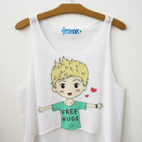 Horan Free Hug Crop Top | fresh-tops.com