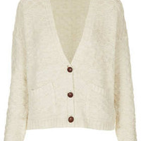 Knitted Girlie Stitch Cardi - Knitwear  - Clothing