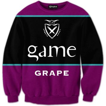 Game Grape Flavored Blunts Crewneck