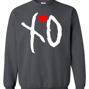 Xo Crewneck Sweatshirt Drake Sweater From Icustomfit On Etsy