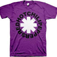 Red Hot Chili Peppers t-shirts at Burning Airlines