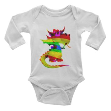 Draco Rainbow Infant long sleeve one-piece