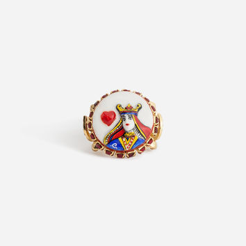 Jewellery and Bijoux for Women | Dolce&Gabbana - QUEEN OF HEARTS RING