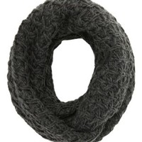 Crisscross Stitch Infinity Scarf by Charlotte Russe